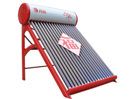 龙福富贵红太阳能热水器