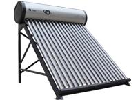 龙威拉丝银太阳能热水器