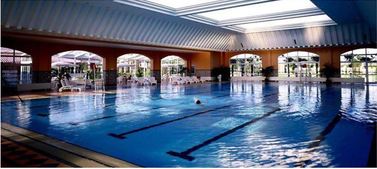 恒温游泳池太阳能解决方案