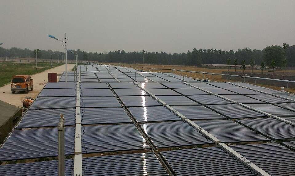 某食品公司大型太阳能热水工程