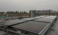 职工洗浴太阳能热水工程