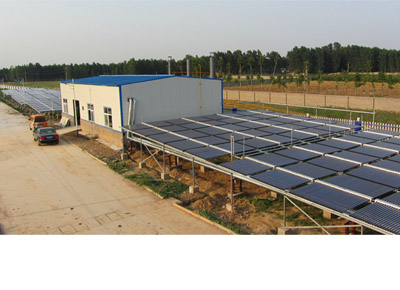 太阳能锅炉预热热水工程