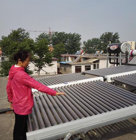 龙田太阳能采暖工程物美价廉,既中看.又中用