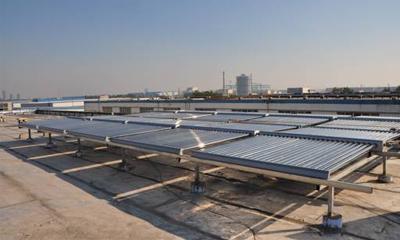 多能互补太阳能采暖系统