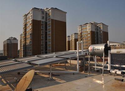 安阳某会所太阳能采暖工程项目